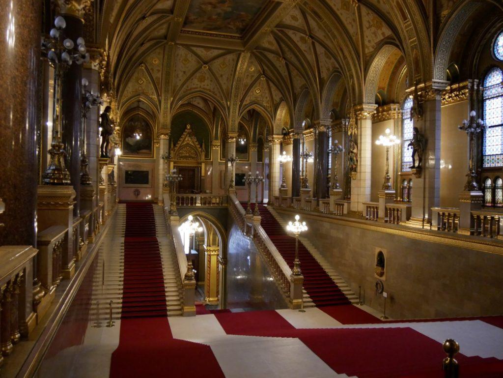 Parlamentsgebäude Budapest