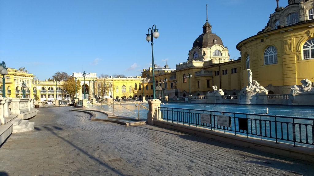 thermal baths Budapest